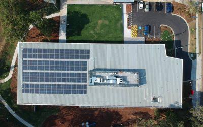 70 Kilowatt Install on a Brisbane City Council Library