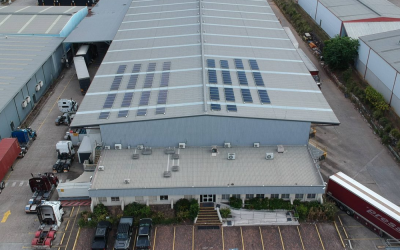Brisbane Tenanted Industrial Shed Solar Power System